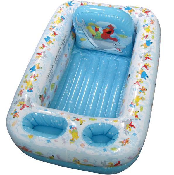 ディズニー セサミストリート ベビーバス 1歳から お風呂 キャラクター セーフティ バスタブ プール 沐浴用 浴槽