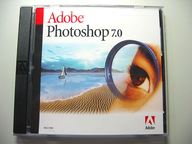 Photoshop 7.0 アカデミック版(中古)