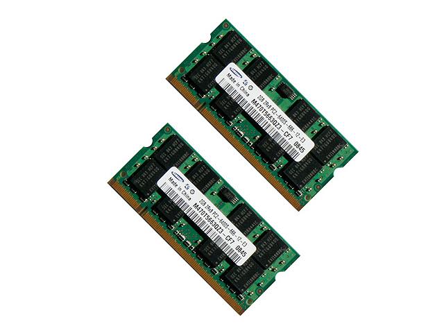 PC2-6400S/DDR2-800/1GB(2枚組)(新品)
