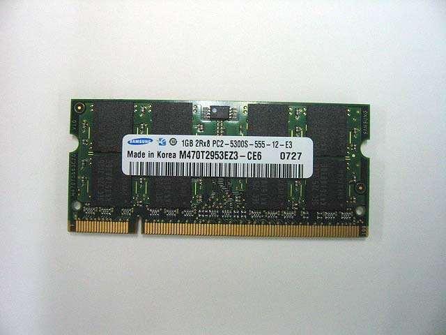 PC2-5300S/DDR2-667/1GB(新品)