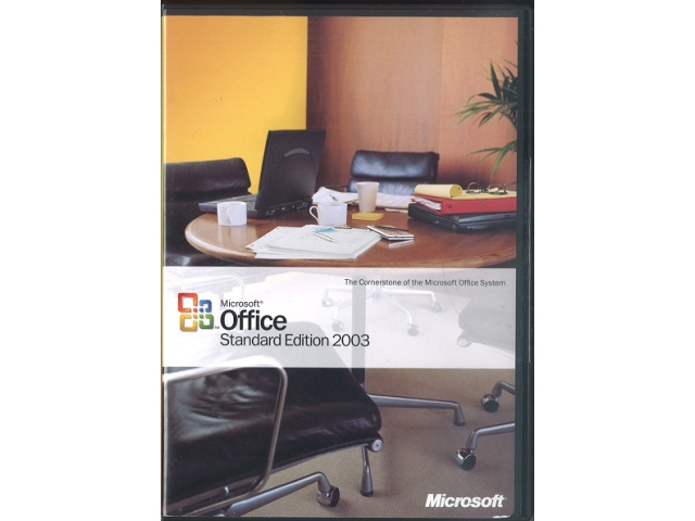 Office Standard Edition 2003 英語版 (中古)