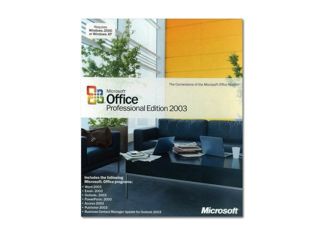 Office Professional Edition 2003 英語版03 英語版(中古)