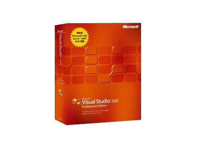 Visual Studio 2005 Professional Editionl Edition(未使用)