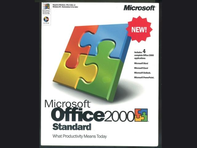 Office 2000 Standard 英語版(新品)