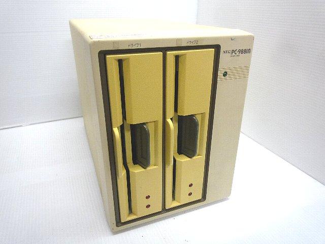 外付8インチFDダブルドライブ PC-9881n(中古)