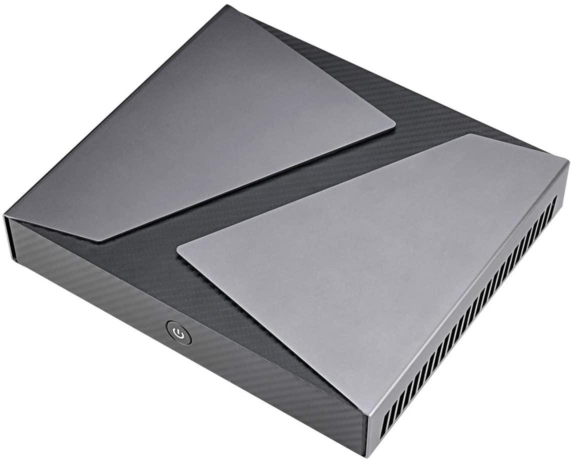 ミニパソコン 新品 ミニデスクトップPC リビングPC Intel Corei9 9880H 第9世代 2.3GHz 8コア 16スレッド NVIDIA Geforce GTX1650 メモリ8GB 新品SSD180GB M.2 2280 SATA3.0 4K出力対応 グラボ付 無線LAN付き Linux対応可能 Bluetooth Windows10Pro