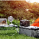 防災グッズ セット ポータブル電源 500W大出力 大容量150000mAh 540Wh 蓄電池 120Wソーラーパネル ソーラーチャージャー 車中泊 キャンプ アウトドア