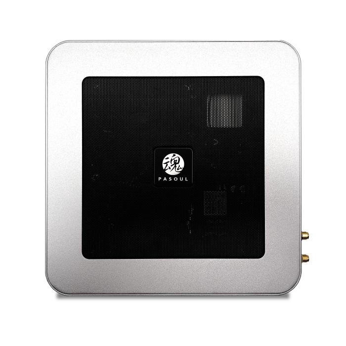 ミニパソコン 新品 ミニデスクトップPC リビングPC シルバー Intel 第10世代CPU搭載 G6400 4.0GHz 2コア 4スレッド メモリ8GB 新品SSD128GB M.2 2280 SATA3.0 内蔵GPU UHD Graphics 無線LAN付き 4K出力対応 Bluetooth Windows10Pro PASOUL
