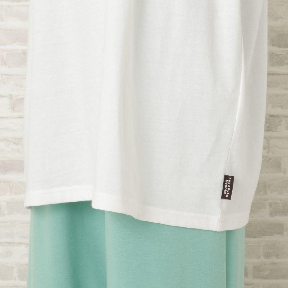 FukuFukuNyanko リゾートボックスTシャツ