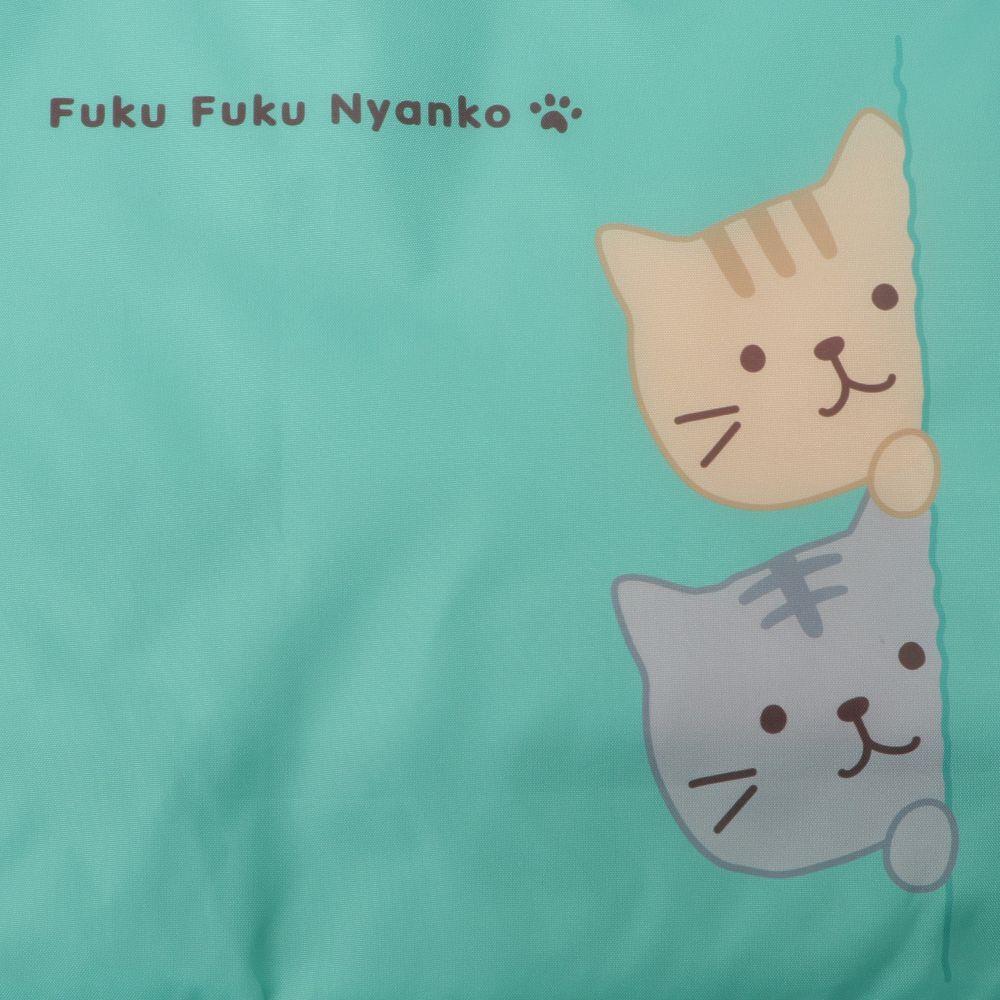 FukuFukuNyanko 底板付きエコバッグ