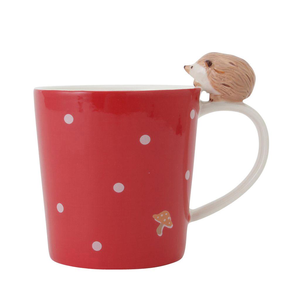 HAPPY Animals ハリネズミマグカップ