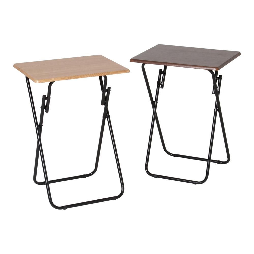 ウッド風おりたたみテーブル