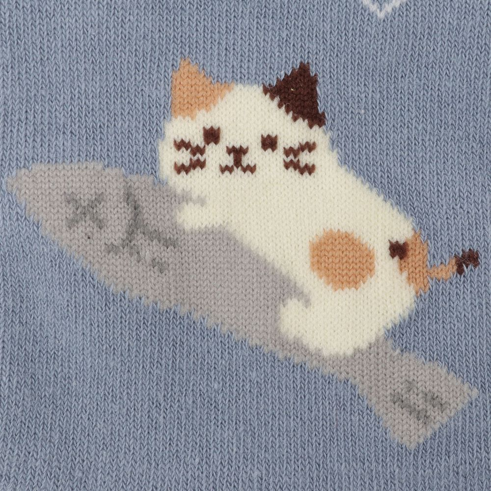 FukuFukuNyanko 5本指ソックス【3足税込1100円】