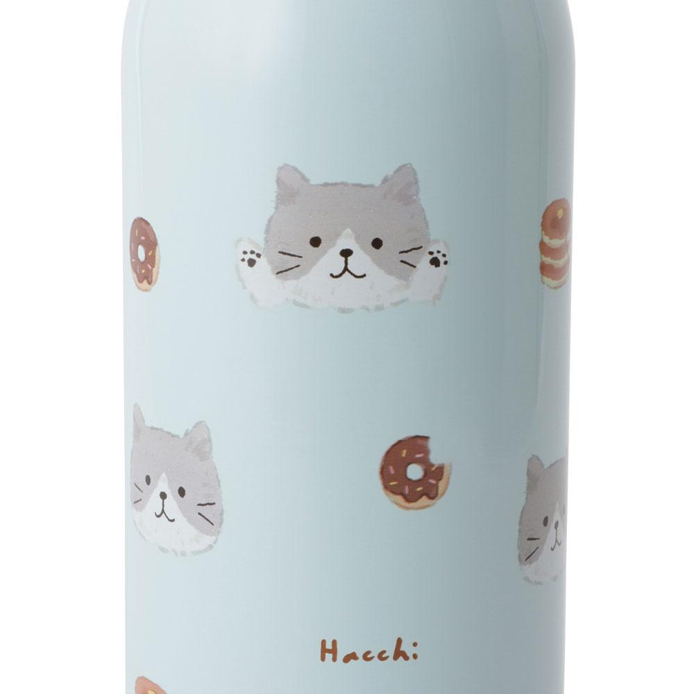 FukuFukuNyankoふわりステンレスボトル(500ml)