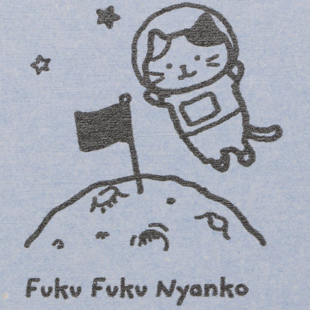 FukuFukuNyanko ダイカット珪藻土コースター