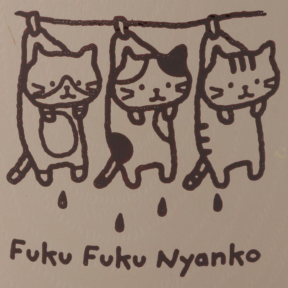 FukuFukuNyanko ウッド調プラマグカップ