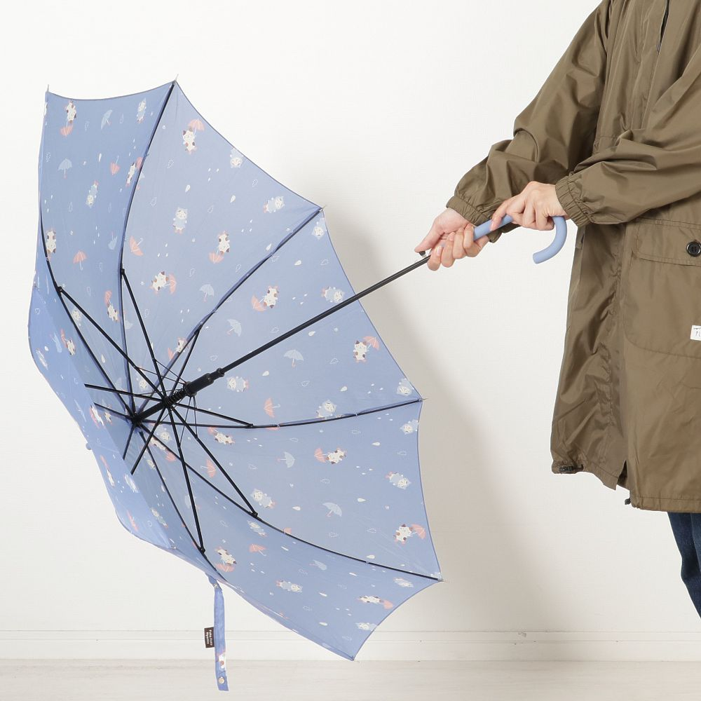FukuFukuNyanko ジャンプ長傘