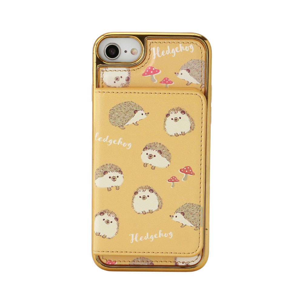 HAPPY Animals ミラー&ポケットスマホケース