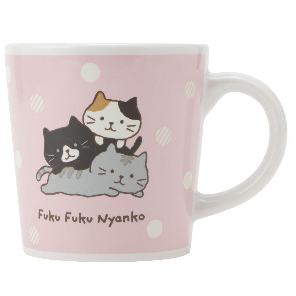 FukuFukuNyanko マグカップ&タオルセット