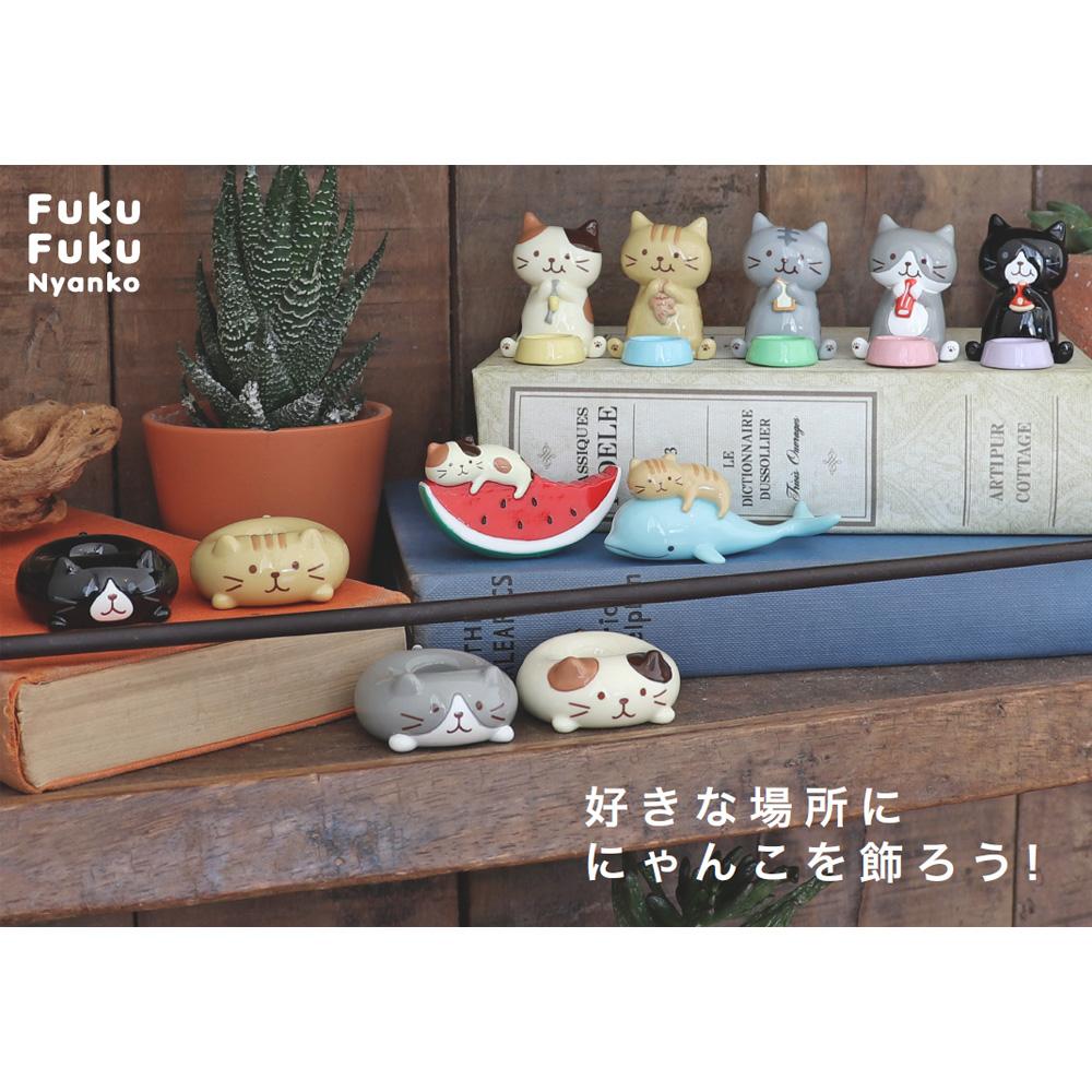 FukuFukuNyanko ごちそう箸置き