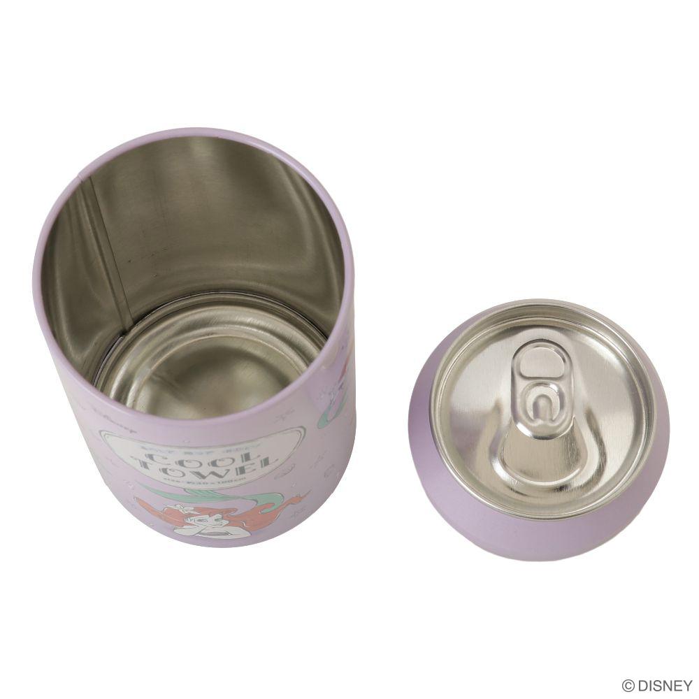 リトル・マーメイド 缶入りクールタオル