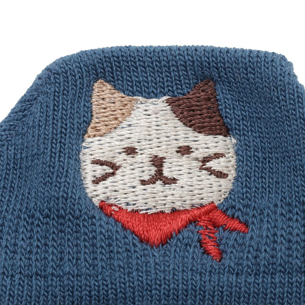 FukuFukuNyanko ひょっこりスニーカーソックス【3足税込1100円】