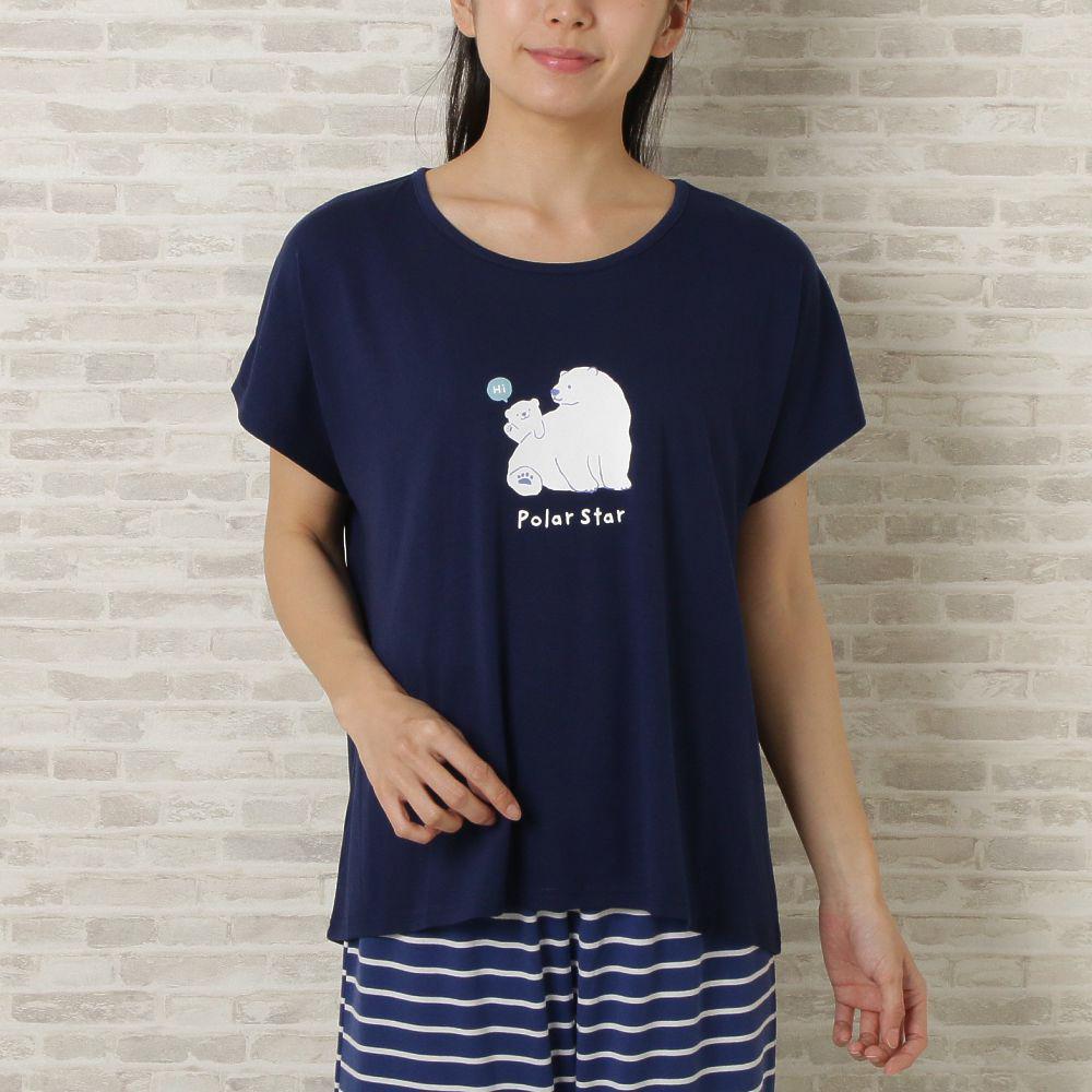 サマーアニマル Tシャツ&腹巻付きパンツ