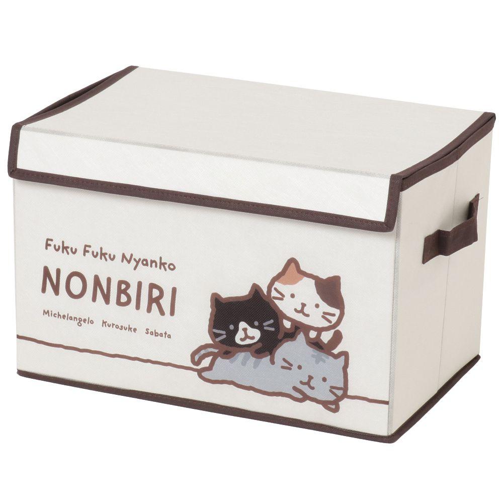 FukuFukuNyanko スタンプ不織布収納BOX
