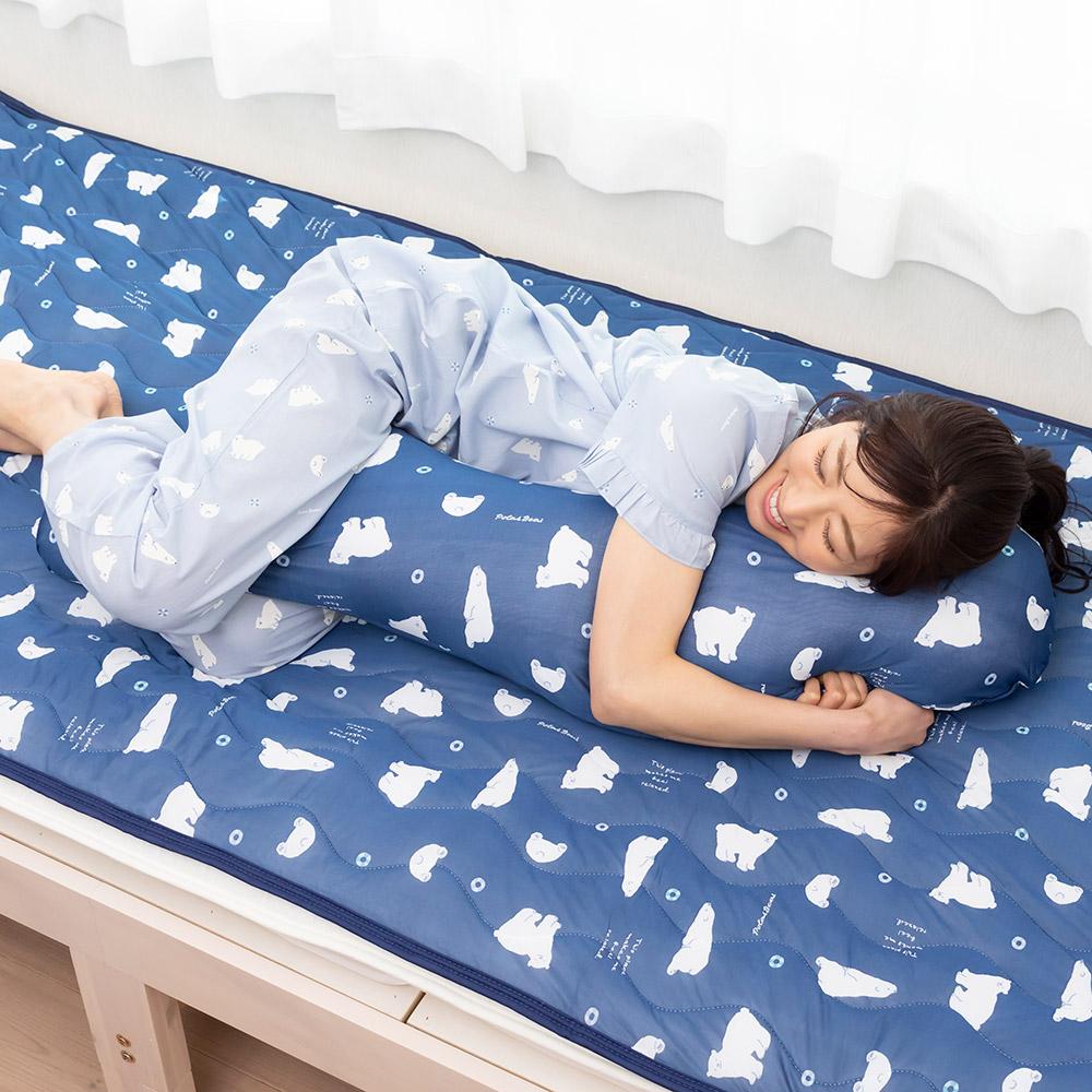 サマーアニマル 接触冷感抱き枕