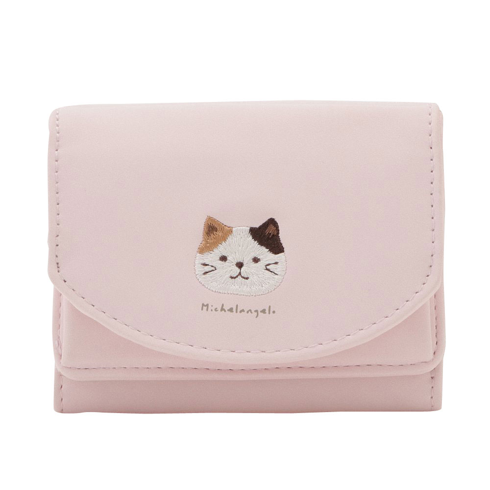 FukuFukuNyanko ふわりミニ財布(スナップ)