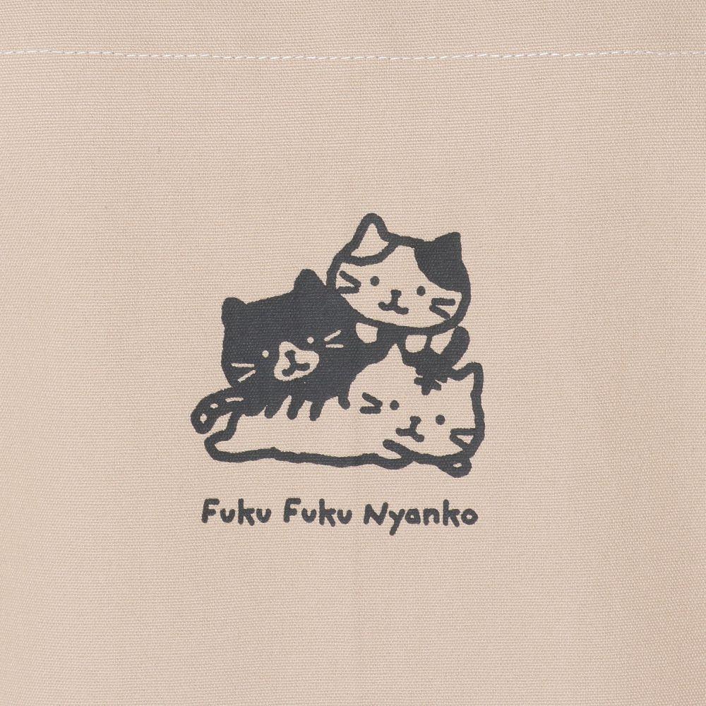 FukuFukuNyanko キャンバスワークエプロン