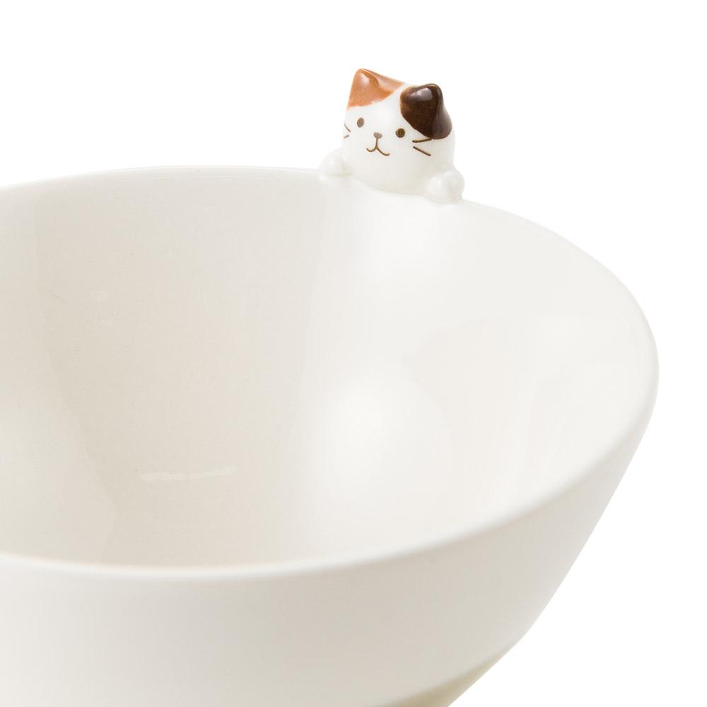 FukuFukuNyankoおねだりマスコット茶碗