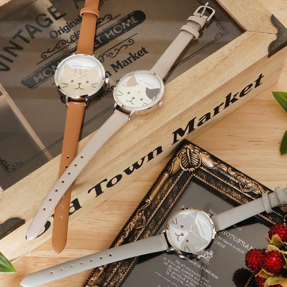 FukuFukuNyanko 腕時計
