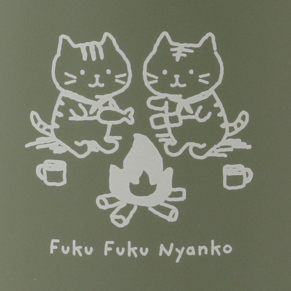 FukuFukuNyanko ステンレスマグカップ(CAMP)