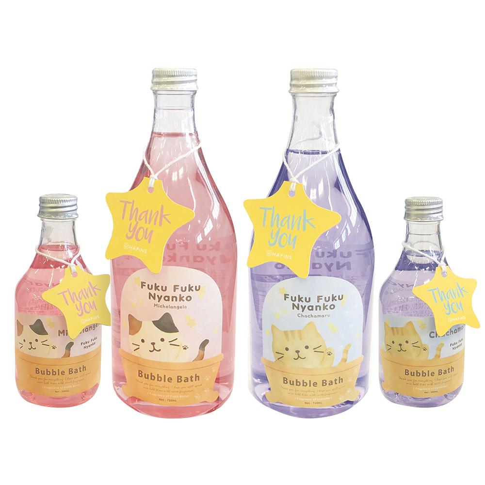 FukuFukuNyanko ボトルバスジェル Lサイズ