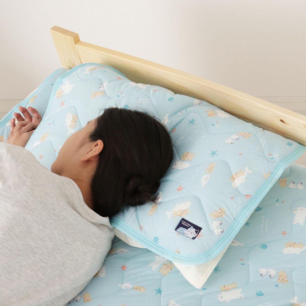 FukuFukuNyanko 接触冷感ピローパッド