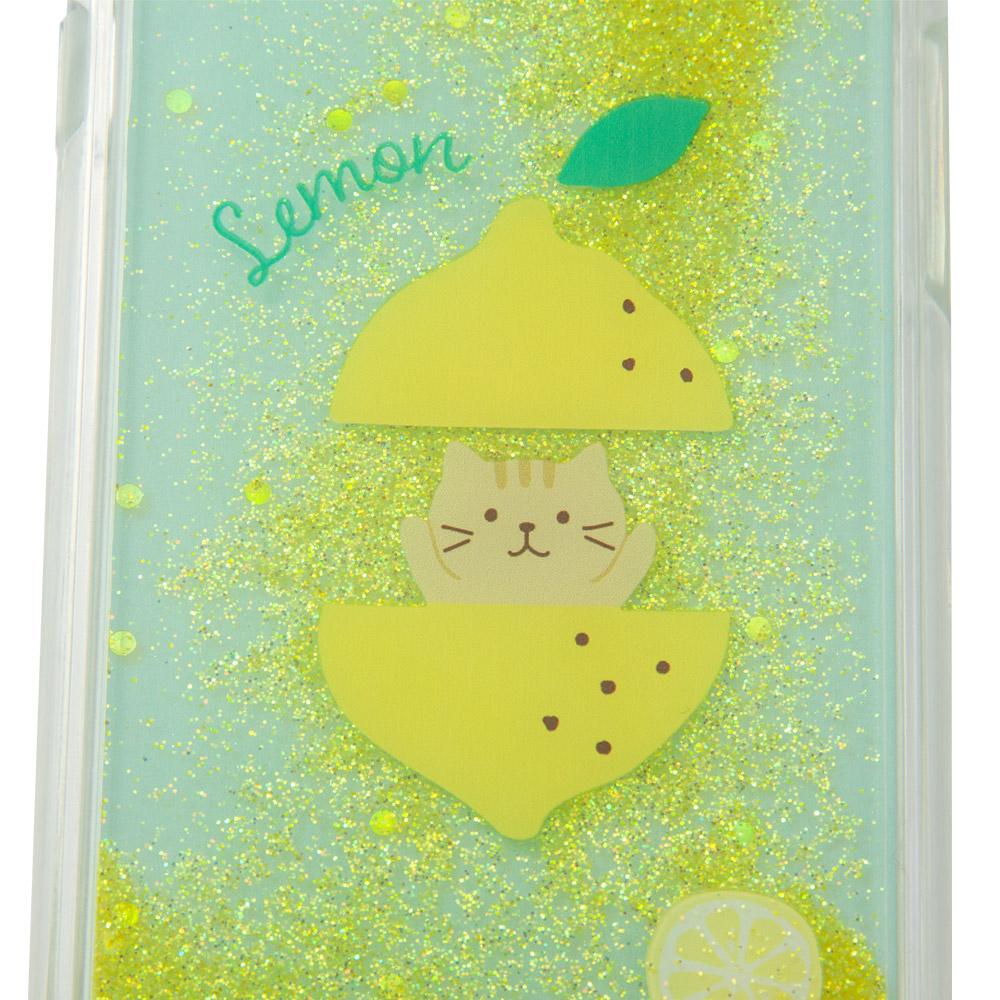 FukuFukuNyankoフルーツにゃんこラメスマホケース(iPhone6s/7/8)