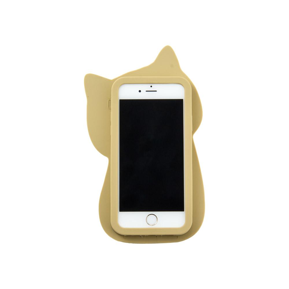 FukuFukuNyanko ダイカットシリコンスマホケース(iPhone�)