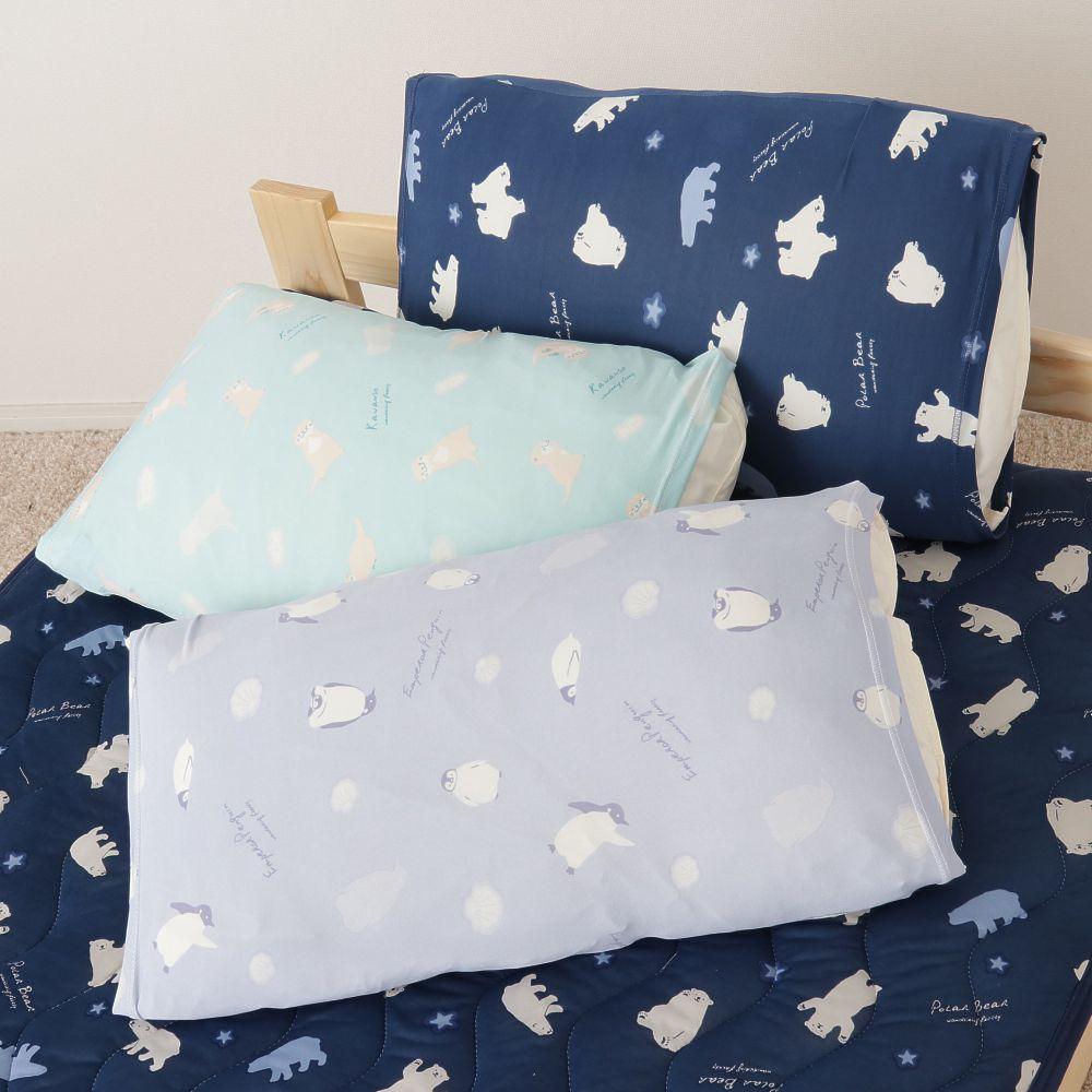 アニマル接触冷感のびのび枕カバー