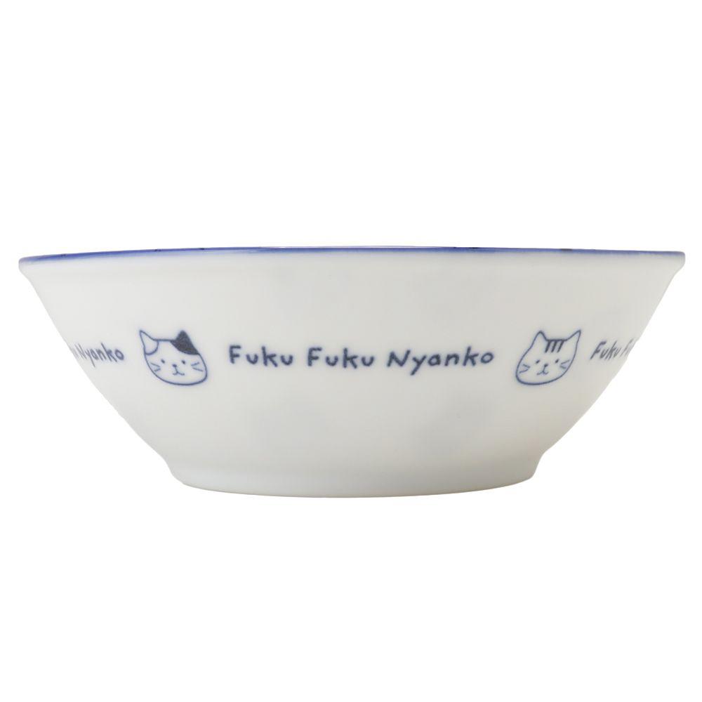 FukuFukuNyanko 軽量藍染ボウル