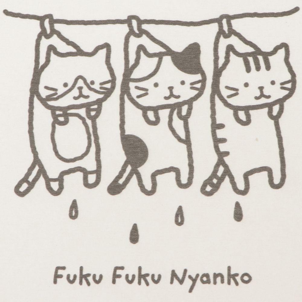 FukuFukuNyanko ダイカット珪藻土マット