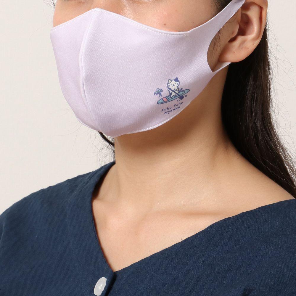FukuFukuNyanko クール抗菌マスク(2枚セット)