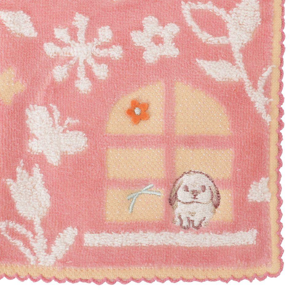 HAPPY Animals ハンドタオル(窓)