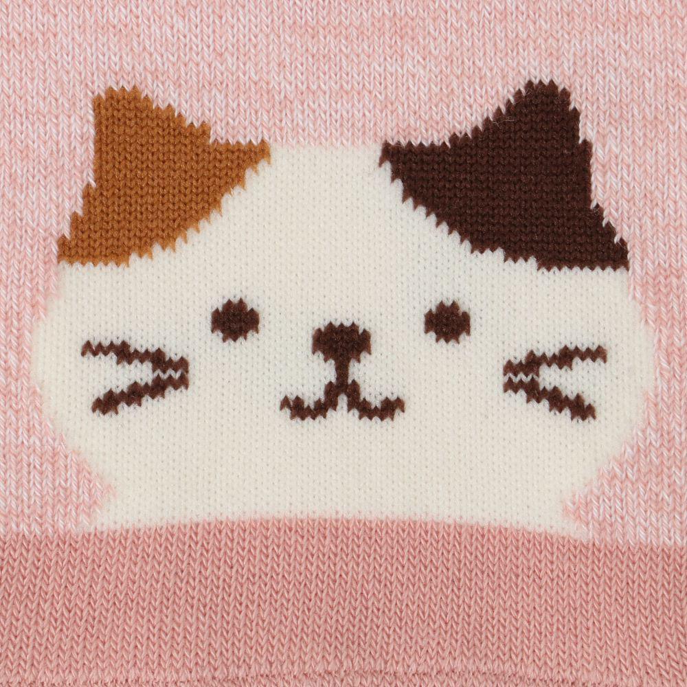 FukuFukuNyanko 涼感ショートソックス【4足税込1100円】