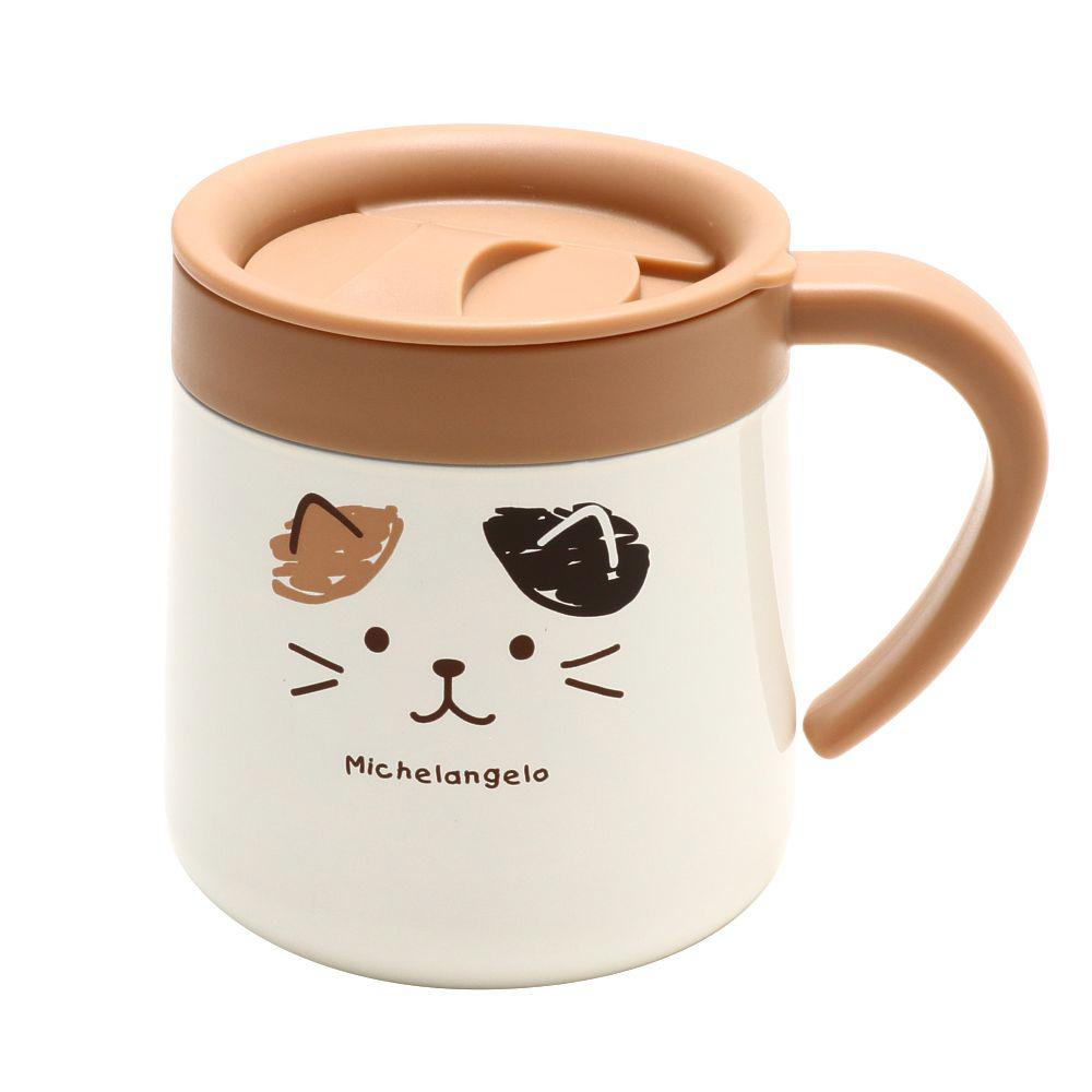 FukuFukuNyanko フェイスステンレスマグカップ