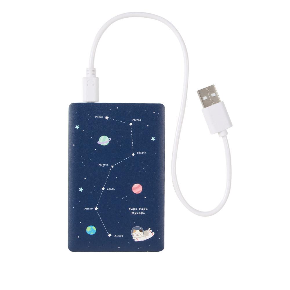 FukuFukuNyankoカード型モバイルバッテリー
