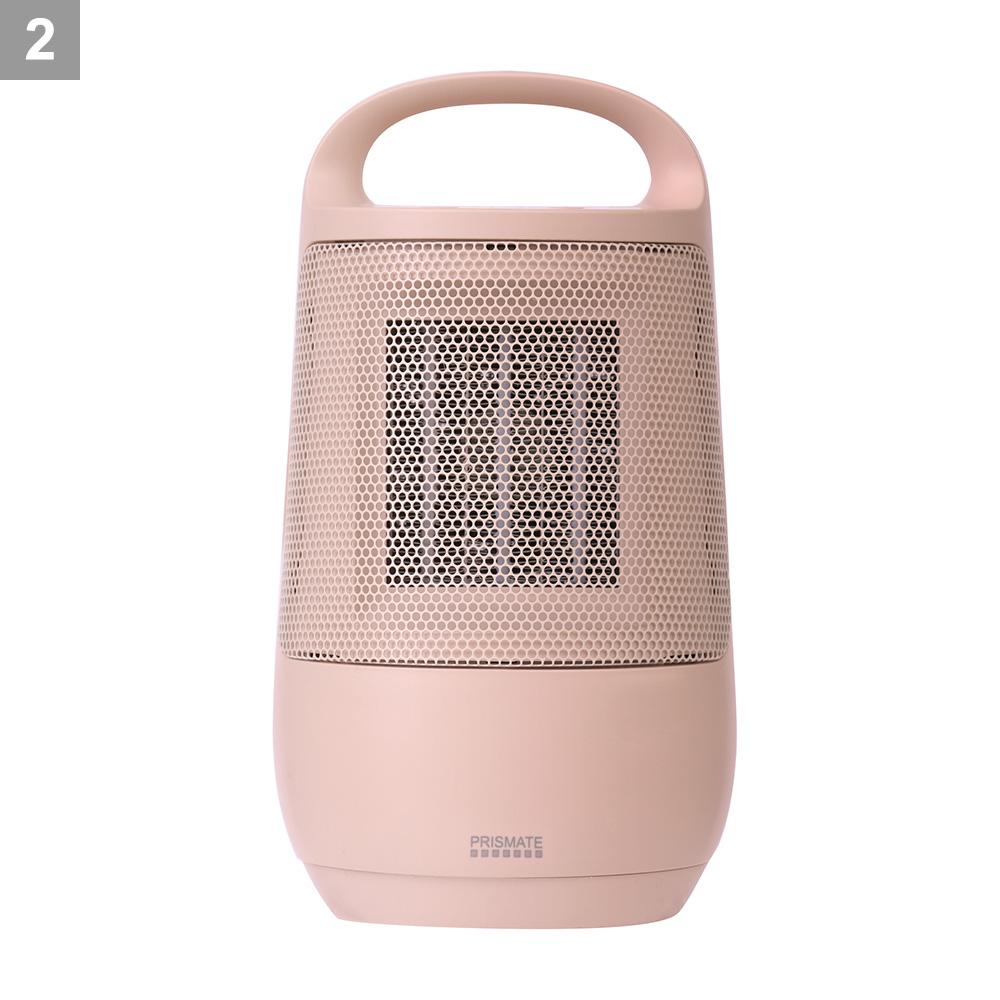 首振り機能付きセラミックファンヒーター