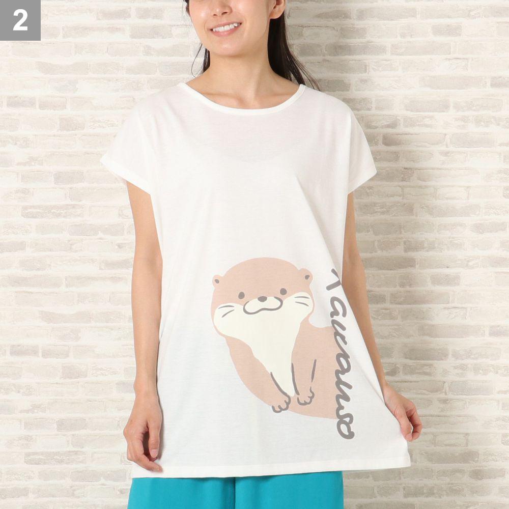 カワウソTシャツ