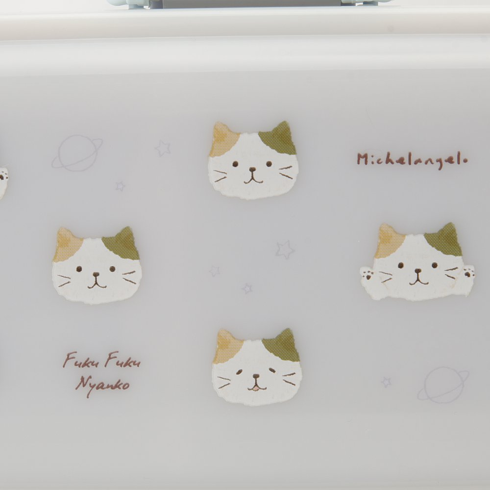 FukuFukuNyankoふわりランチボックス(1段タイプ)