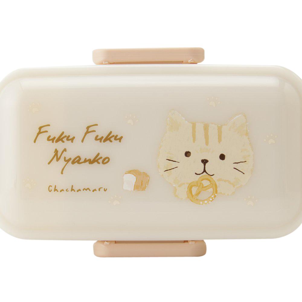 FukuFukuNyankoふわりランチボックス(2段タイプ)
